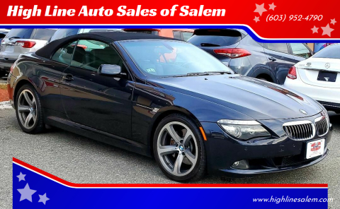 2009 BMW 6 Series for sale at High Line Auto Sales of Salem in Salem NH