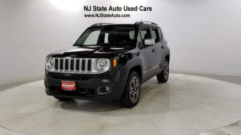 2016 Jeep Renegade Limited for sale at NJ State Auto Auction in Jersey City NJ