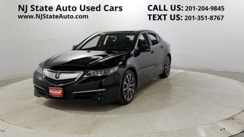 2015 Acura TLX for sale at NJ State Auto Auction in Jersey City NJ