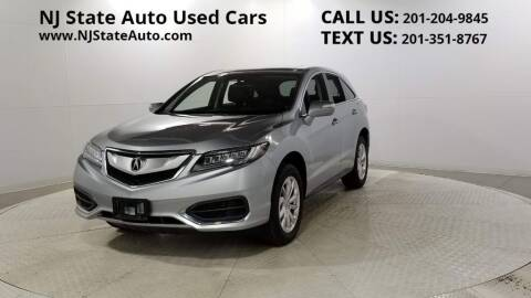 2017 Acura RDX for sale at NJ State Auto Auction in Jersey City NJ