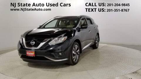 2015 Nissan Murano for sale at NJ State Auto Auction in Jersey City NJ