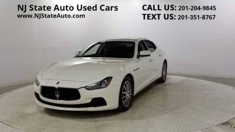2014 Maserati Ghibli for sale at NJ State Auto Auction in Jersey City NJ