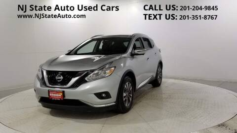 2016 Nissan Murano for sale at NJ State Auto Auction in Jersey City NJ