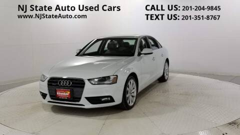 2013 Audi A4 for sale at NJ State Auto Auction in Jersey City NJ