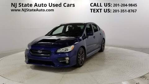 2017 Subaru WRX for sale at NJ State Auto Auction in Jersey City NJ