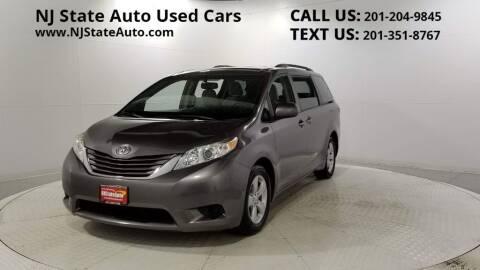 2015 Toyota Sienna for sale at NJ State Auto Auction in Jersey City NJ