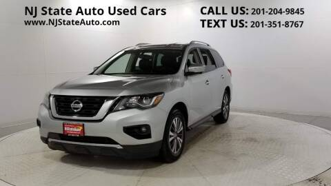 2017 Nissan Pathfinder for sale at NJ State Auto Auction in Jersey City NJ