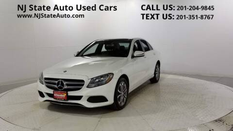 2016 Mercedes-Benz C-Class for sale at NJ State Auto Auction in Jersey City NJ