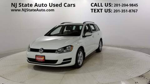 2015 Volkswagen Golf SportWagen for sale at NJ State Auto Auction in Jersey City NJ