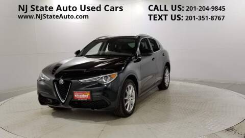 2018 Alfa Romeo Stelvio for sale at NJ State Auto Auction in Jersey City NJ