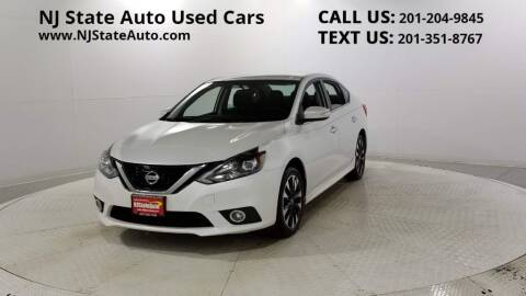 2017 Nissan Sentra for sale at NJ State Auto Auction in Jersey City NJ