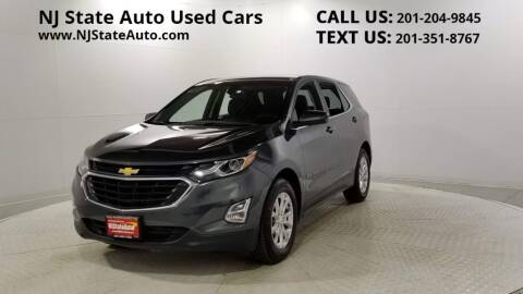 2018 Chevrolet Equinox for sale at NJ State Auto Auction in Jersey City NJ