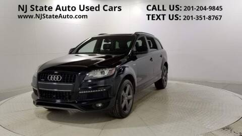 2015 Audi Q7 for sale at NJ State Auto Auction in Jersey City NJ
