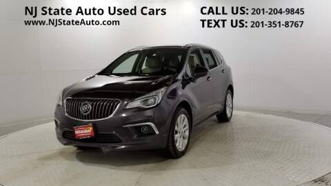 2018 Buick Envision for sale at NJ State Auto Auction in Jersey City NJ