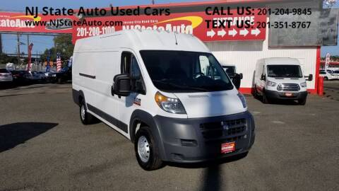 2017 RAM ProMaster Cargo for sale at NJ State Auto Auction in Jersey City NJ
