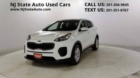 2018 Kia Sportage for sale at NJ State Auto Auction in Jersey City NJ