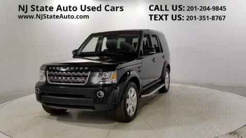 2016 Land Rover LR4 for sale at NJ State Auto Auction in Jersey City NJ