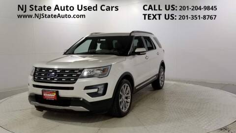 2016 Ford Explorer for sale at NJ State Auto Auction in Jersey City NJ