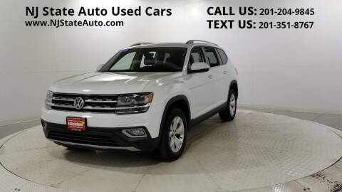 2018 Volkswagen Atlas for sale at NJ State Auto Auction in Jersey City NJ