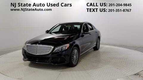 2015 Mercedes-Benz C-Class for sale at NJ State Auto Auction in Jersey City NJ