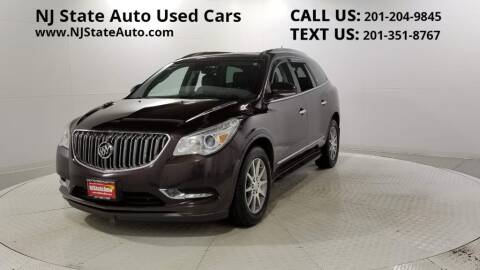 2016 Buick Enclave for sale at NJ State Auto Auction in Jersey City NJ