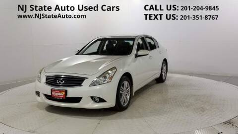 2013 Infiniti G37 Sedan for sale at NJ State Auto Auction in Jersey City NJ
