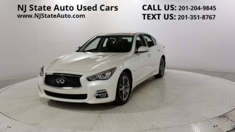2017 Infiniti Q50 for sale at NJ State Auto Auction in Jersey City NJ