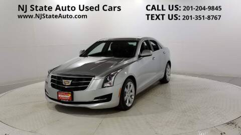 2016 Cadillac ATS for sale at NJ State Auto Auction in Jersey City NJ