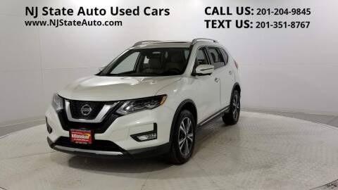 2017 Nissan Rogue for sale at NJ State Auto Auction in Jersey City NJ