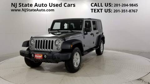 2016 Jeep Wrangler Unlimited for sale at NJ State Auto Auction in Jersey City NJ