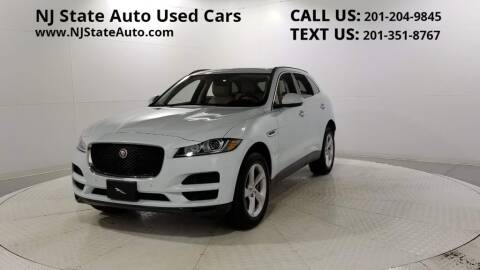 2019 Jaguar F-PACE for sale at NJ State Auto Auction in Jersey City NJ