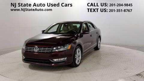 2013 Volkswagen Passat for sale at NJ State Auto Auction in Jersey City NJ