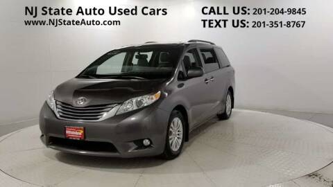 2016 Toyota Sienna for sale at NJ State Auto Auction in Jersey City NJ