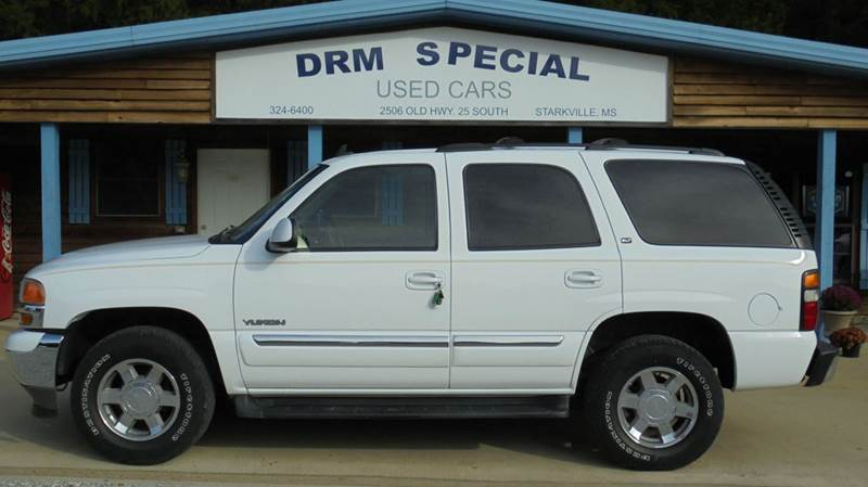 2006 gmc yukon slt 4dr suv w 4sa in starkville ms drm special used cars. Black Bedroom Furniture Sets. Home Design Ideas