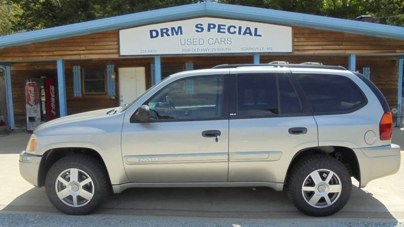 2002 gmc envoy sle 2wd 4dr suv in starkville ms drm special used cars. Black Bedroom Furniture Sets. Home Design Ideas