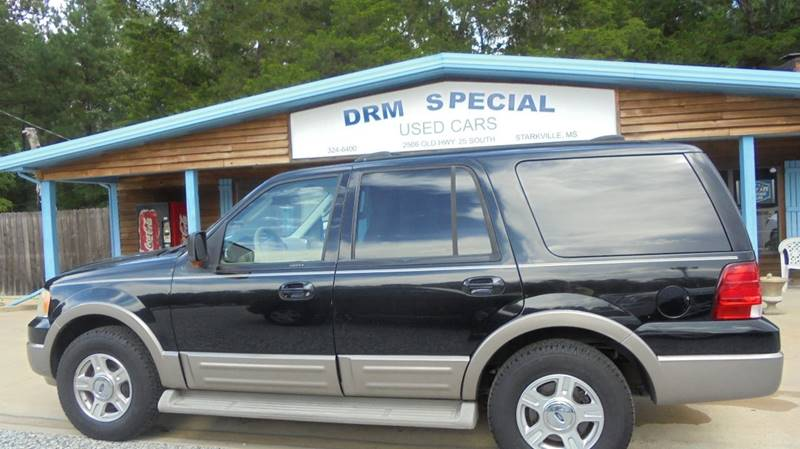 2004 ford expedition eddie bauer 4dr suv in starkville ms drm special used cars. Black Bedroom Furniture Sets. Home Design Ideas