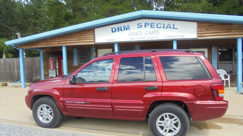 2004 jeep grand cherokee special edition 4dr suv in starkville ms drm special used cars. Black Bedroom Furniture Sets. Home Design Ideas