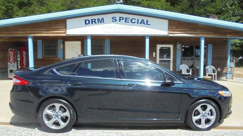 2014 ford fusion se 4dr sedan in starkville ms drm special used cars. Black Bedroom Furniture Sets. Home Design Ideas