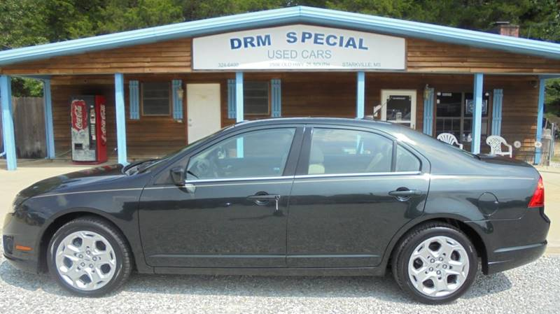 2010 ford fusion se 4dr sedan in starkville ms drm special used cars. Black Bedroom Furniture Sets. Home Design Ideas