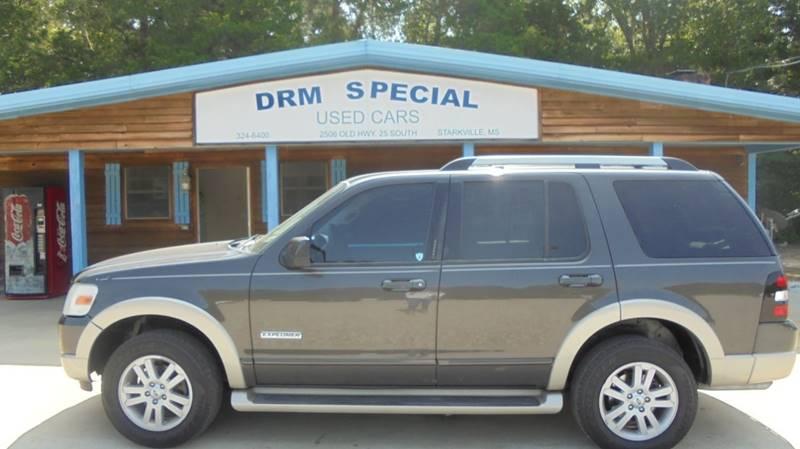 2006 ford explorer eddie bauer 4dr suv v6 in starkville ms drm special used cars. Black Bedroom Furniture Sets. Home Design Ideas