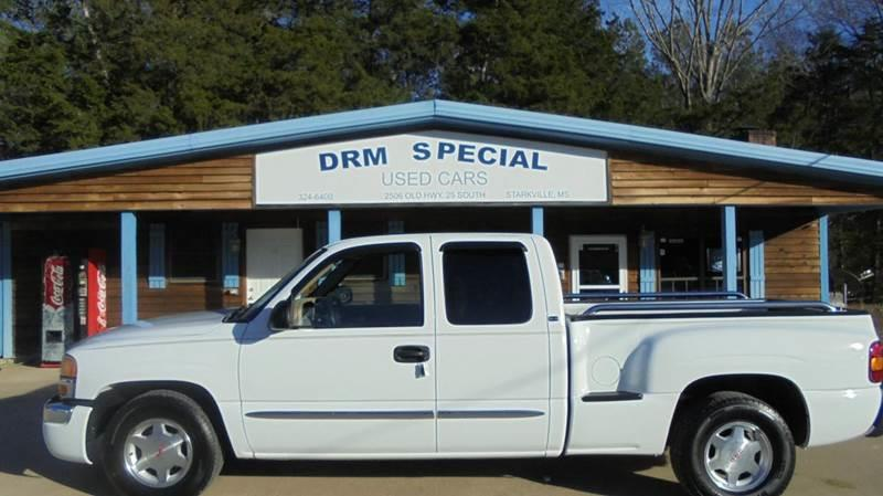 2003 gmc sierra 1500 4dr extended cab sle rwd sb in starkville ms drm special used cars. Black Bedroom Furniture Sets. Home Design Ideas