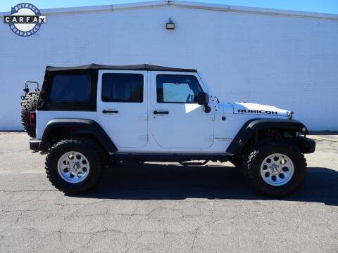 Used Jeep Wrangler For Sale Nc >> 2015 Jeep Wrangler Unlimited For Sale In Madison Nc