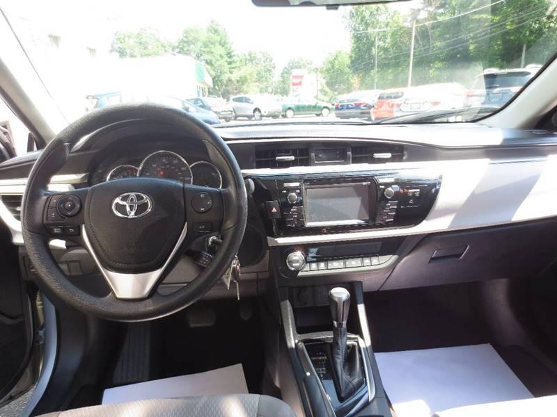 2014 Toyota Corolla LE 4dr Sedan - Easthampton MA