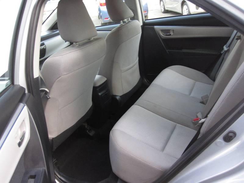 2015 Toyota Corolla LE 4dr Sedan - Easthampton MA