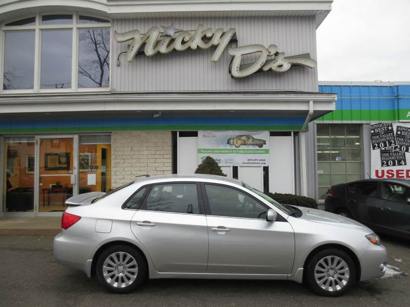 2008 Subaru Impreza for sale at Nicky D's in Easthampton MA