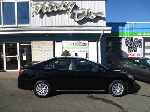 2012 Toyota Camry for sale at Nicky D's in Easthampton MA