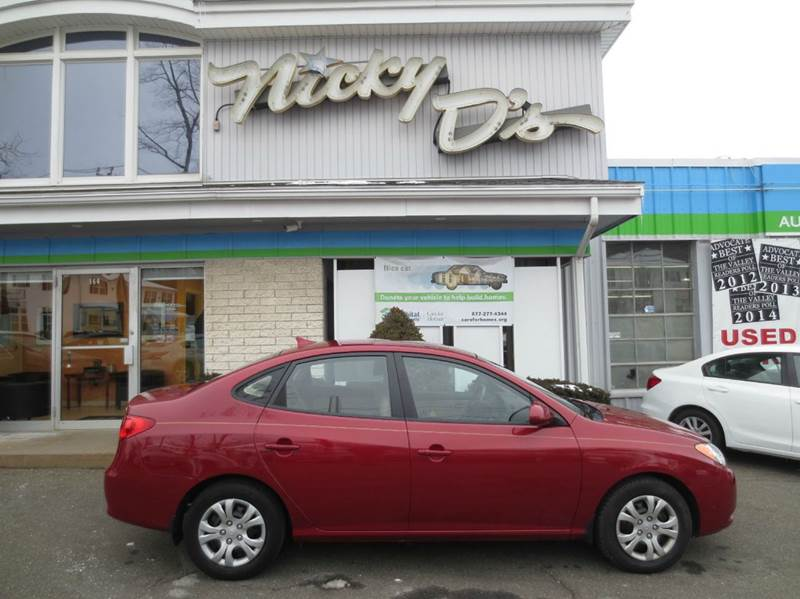 2010 Hyundai Elantra for sale at Nicky D's in Easthampton MA
