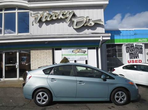 2013 Toyota Prius for sale at Nicky D's in Easthampton MA