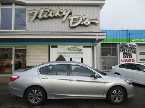 2013 Honda Accord for sale at Nicky D's in Easthampton MA