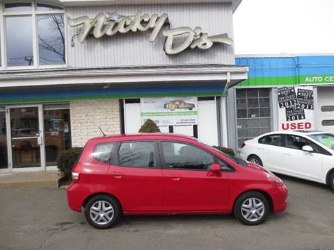 2008 Honda Fit for sale at Nicky D's in Easthampton MA